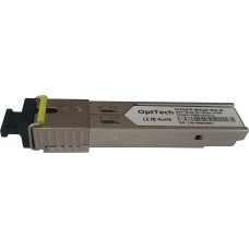 Модуль SFP, 155Mbps, WDM, TX/RX=1550/1310nm, SM, SC, 20km, DDMI