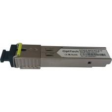 Модуль SFP, WDM, TX/RX=1550/1310nm, SC, 3km, DDMI